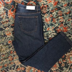 Re/Done Original double needle jeans